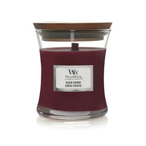 Candela Fragranza Black Cherry Yankee Candle   WoodWick