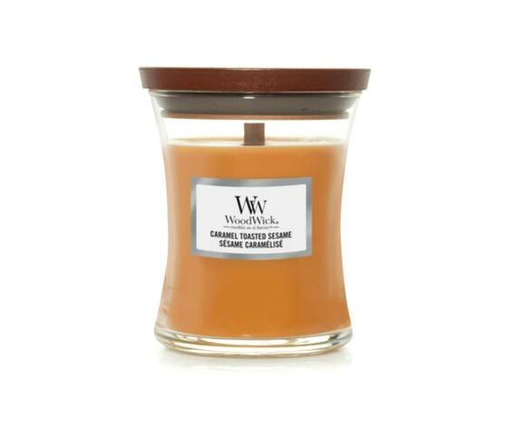 Woodwick caramel toasted