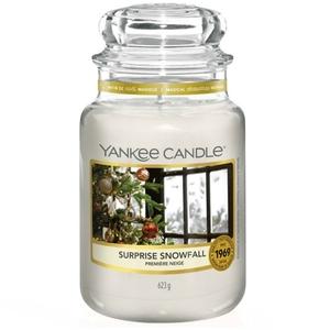 Candela Yankee Candle Surprise Snowfall in Giara Grande