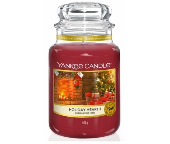 Holiday heart yankee candle