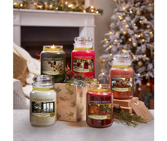 Yankee candle candela profumata holiday heart