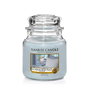 Candela Yankee Candle  A Calm & Quite Place in Giara Media