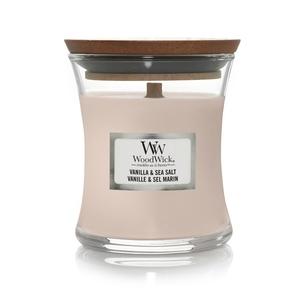 Candela Fragranza Vanilla Sea Salt , Vaniglia e Sale Marino Yankee Candle   WoodWick