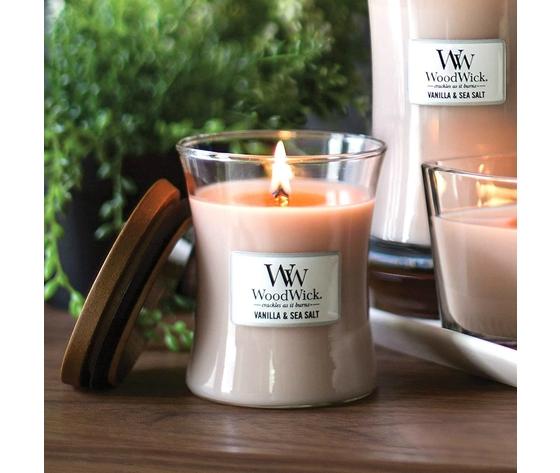 Candela profumata woodwick vanilla