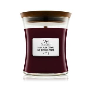 Candela Fragranza Black Cognac Plum Yankee Candle   WoodWick
