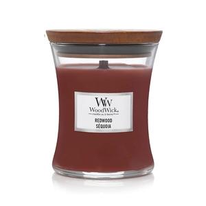 Candela Fragranza Redwood Sequoia  Yankee Candle   WoodWick