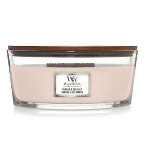 Candela ellipse Vanilla Sea Salt , Vaniglia e Sale Marino Yankee Candle   WoodWick