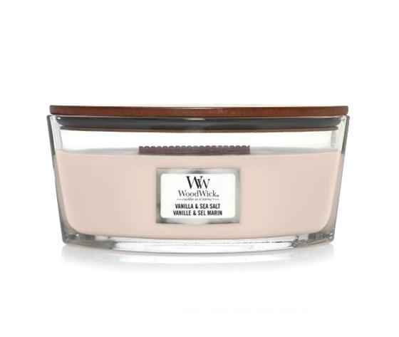 Vanilla sea salt candela ellipse woodwick