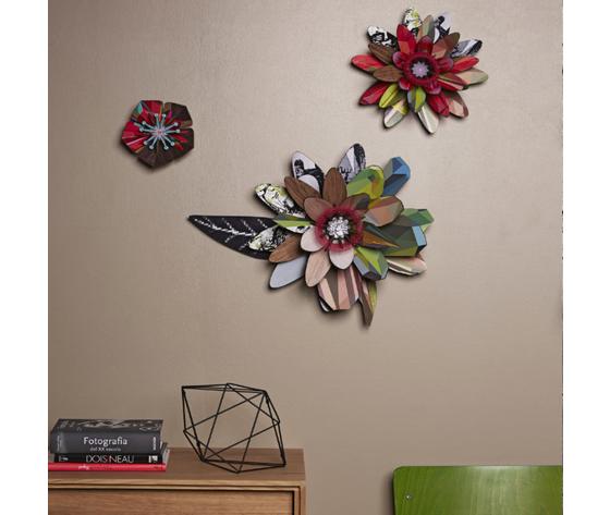 Fiori decorativi ecofriendly mihounespected marte rayoflight