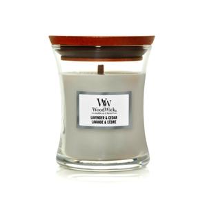 Candela Fragranza Lavender & Cedar , Lavanda e Cedro Yankee Candle   WoodWick