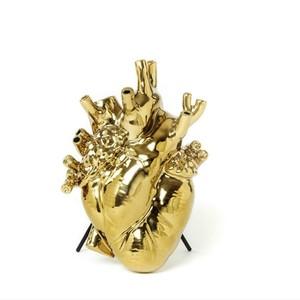 Love in bloom Vaso anatomico oro porcellana Oro Seletti vedita offerta metoo-design Roma