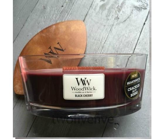 Black cherry yankeecandle woodwick