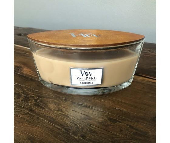 Goldenmilk woodwick design