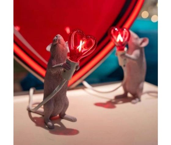 Mouse lamp love sanvalentino