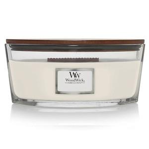 vendita Candela ellipse  ellittica Yankeecandle Fragranza White Teak  WoodWick