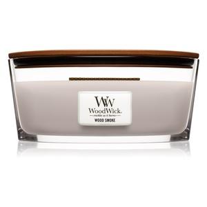 WoodWick Candela Profumata Legno Affumicato Woodsmoke metoo-design