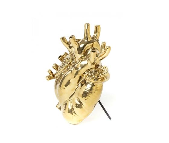 Seletti love in bloom vaso cuore gold marcantonio metoo design