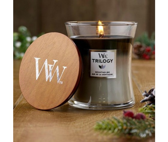 Trilogy mountain air candele woodwick yankee