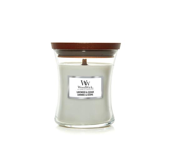 Candela piccola lavender cedar woodwick %281%29