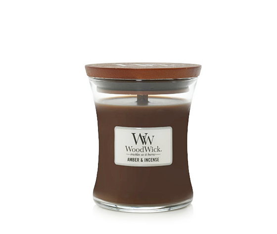 Candela piccola amber incense woodwick