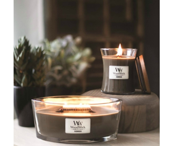 Candele offerta woodwick amber incense