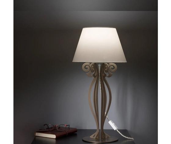 Artiemestieri lampada circeo comodino bronzo