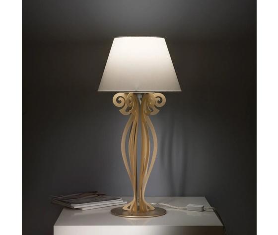 Artiemestieri lampada circeo comodino oro