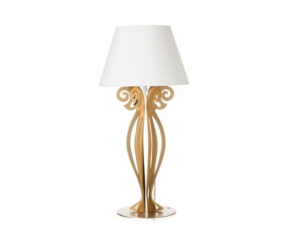 Lampada circeo comodino oro
