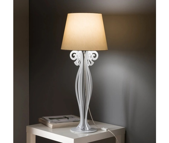 Artiemestieri lampada circeo tavolo bianca