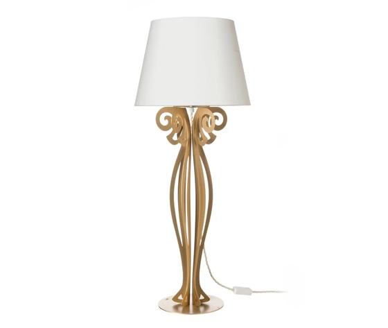 Lampada circeo grande tavolo artiemestieri oro