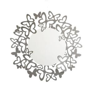 Specchio Butterfly Storm parete Arti e Mestieri in ferro con dettagli Farfalle Metoo-design