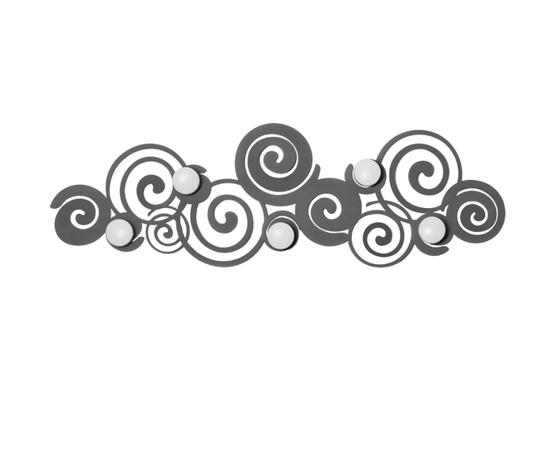 Appendiabiti orfeo grigio artiemestieri
