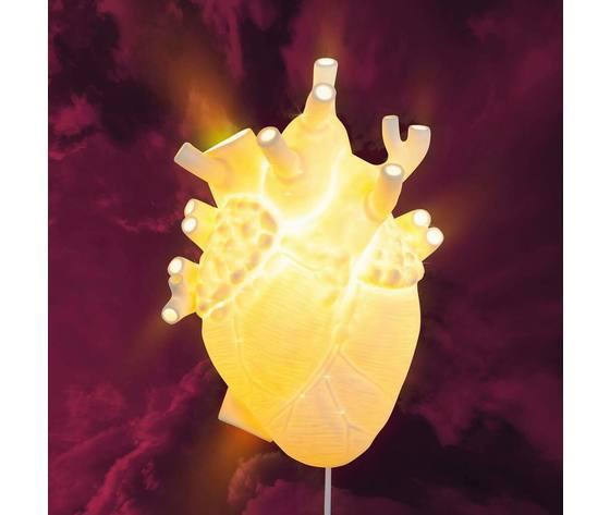 Heart lamp seletti cuore