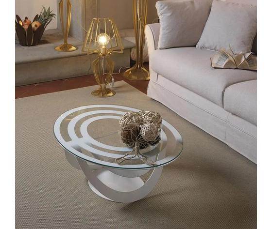 Optica tavolo soggiorno con minerva arti e mestieri