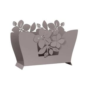 Portariviste elegante in ferro Fior Di Loto vendita arti e mestieri shopping roma metoo-design