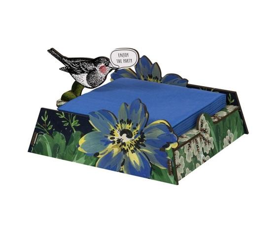 Porta tovaglioli vendita offerta miho uccellino blu joy