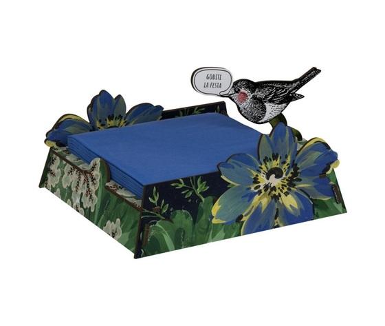 Porta tovaglioli vendita offerta miho uccellino blu celebrate