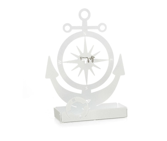 aem0za11378bi    portazampironi ancora barca bianca marina artiemestieri