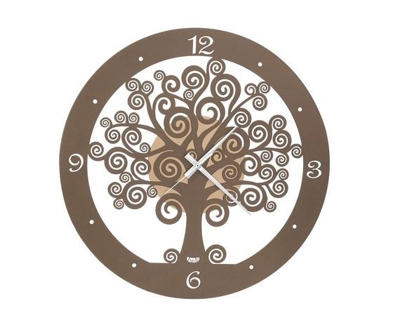 Aem3486ob    orologio grande parete albero della vita arti e mestieri