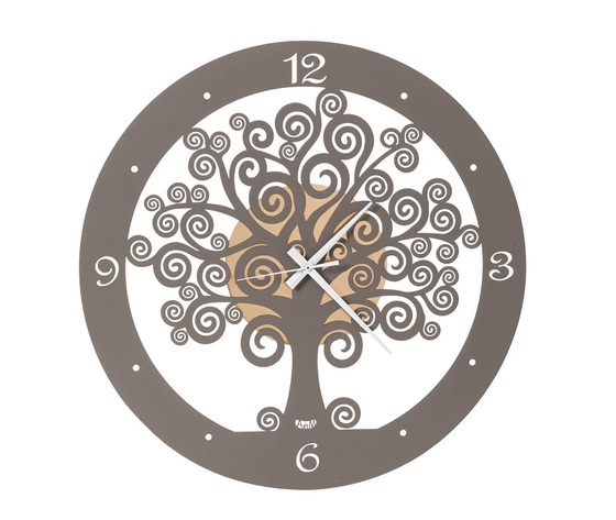 aem3486of    orologio grande parete albero della vita