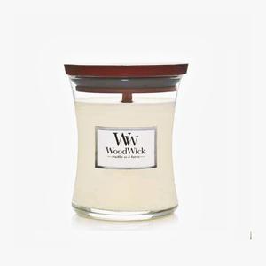 candla profumata woodwick yankee candle Cocco e fava tonka , fragranza Coconut offerta sconto online metoo-design roma