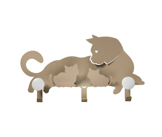 Aem0ap3493    appendiabiti mamma gatto beige arti e mestieri metoo design