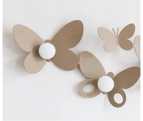 Aem2322    particolare appendiabiti butterfly