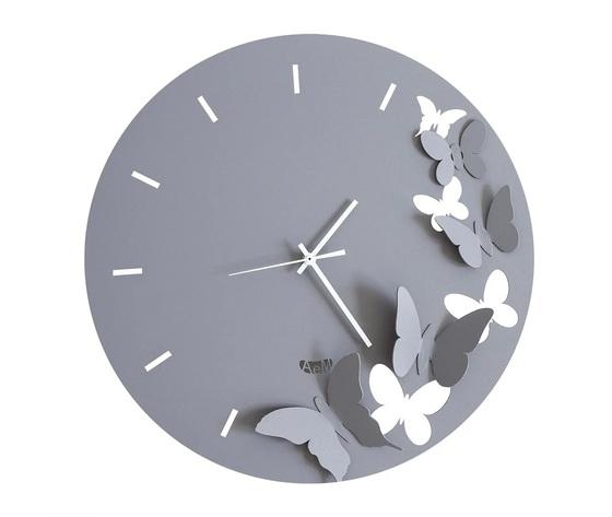 Aem2875    orologi parete butterfly spring arti e mestieri ardesia