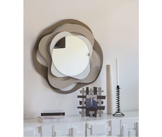 Aem2916    specchio isotta da ingresso beige arti e mestieri