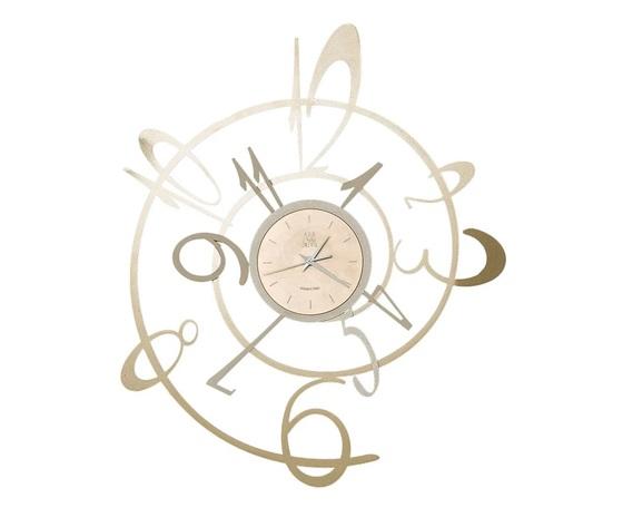 Aem3030    orologio parete new george arti e mestieri bronzo