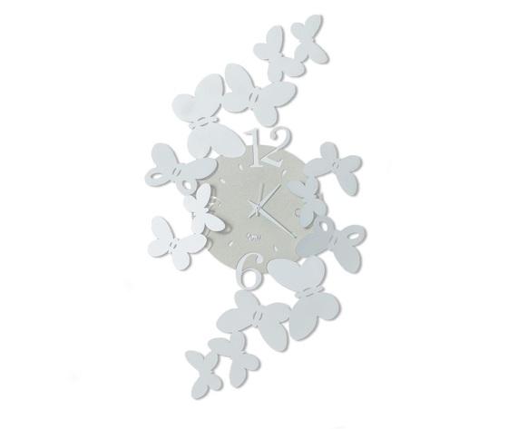 Aem3220    orologio papillon bianco