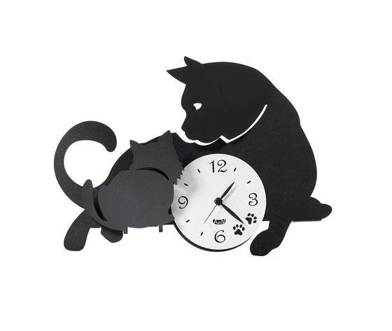 Aem3494bn    orologio mamma tenero gatta metoo design artiemestieri