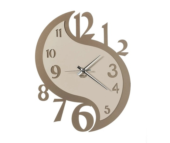 Aem3563bs    orologio karma parete arti e mestieri beige
