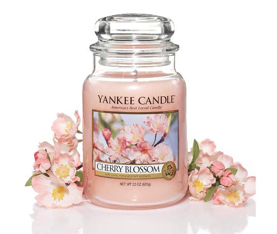 Ya1542836e    cherry blossom candele yankee candle